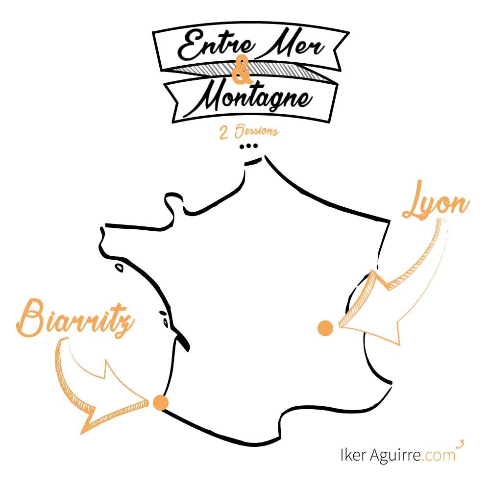 Elite Masterminds, 2 sessions entre mer et montagne, avec Iker Aguirre. Biarritz, Lyon.