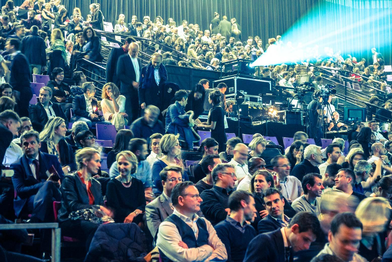 Premium CJD Pau Béarn, 26 Janvier 2018. 1000 personnes dans la salle. Iker Aguirre faisait la conférence d'ouverture, suivi du philosophe Raphaël Enthoven, avec l'animation d'Annie Lemoine.