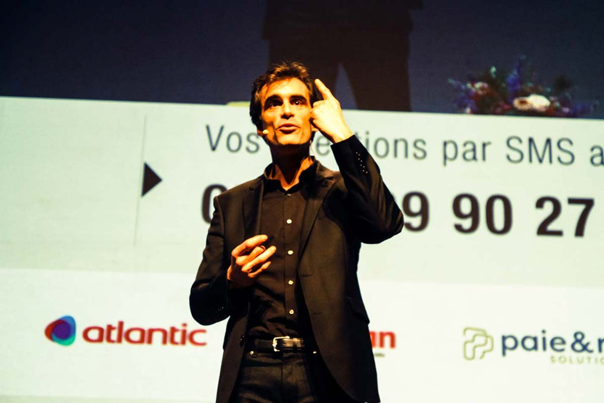 Raphaël Enthoven, Premium CJD Pau Béarn 2018.