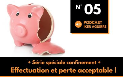 Episode 5: Confinement, effectuation et perte acceptable
