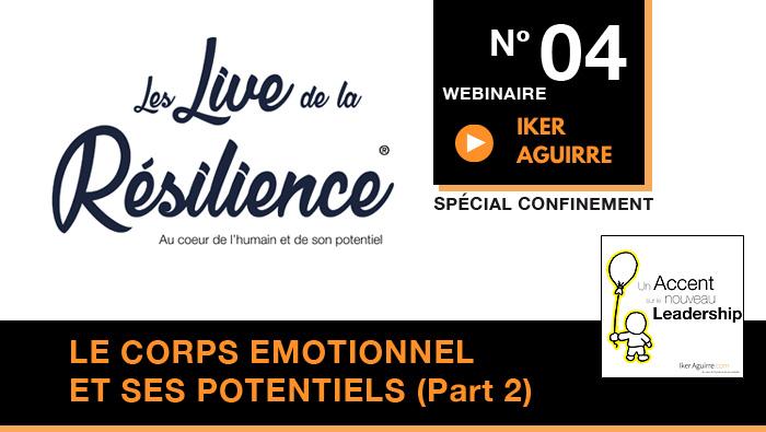 Live de la Résilience : Webinaire 4  | Replay et Ressources