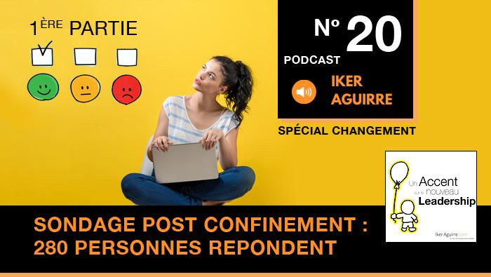 Episode 20 : Sondage Bilan Confinement de La Ruche Industrielle, 280 personnes s'expriment.