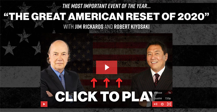 The Great American Reset, interview avec Robert Kiyosaki et Jim Rickards