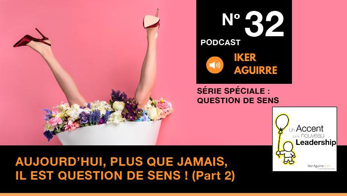 Episode n°32 : Aujourd'hui, plus que jamais, il est question de sens (partie 2)
