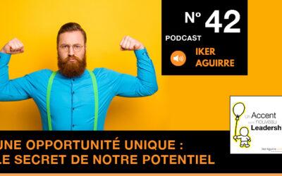 Podcast 42 : Le secret de notre potentiel